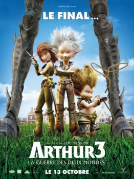 poster Arthur 3: The War of the Two Worlds