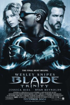 poster Blade: Trinity