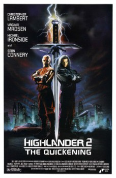 poster Highlander II: The Quickening