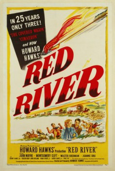 poster Red River