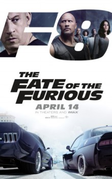 poster The Fate of the Furious