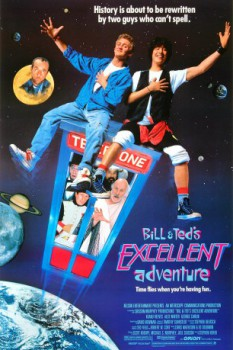 poster Bill & Ted's Excellent Adventure