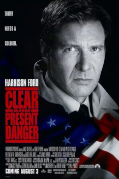 poster Clear and Present Danger