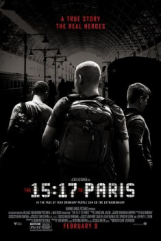 poster The 15:17 to Paris