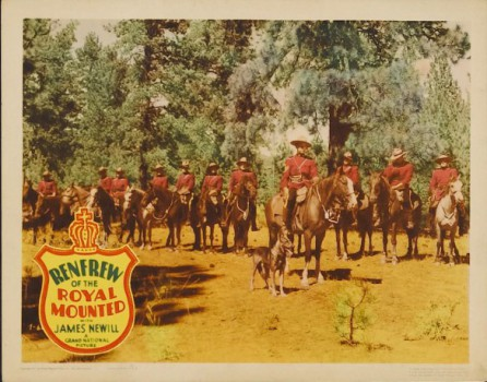 poster Renfrew of the Royal Mounted